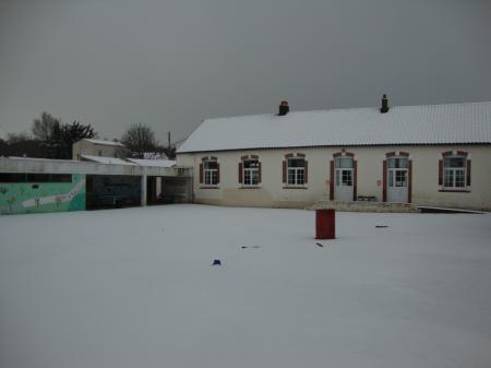 L'année 2010 commence sous la neige !